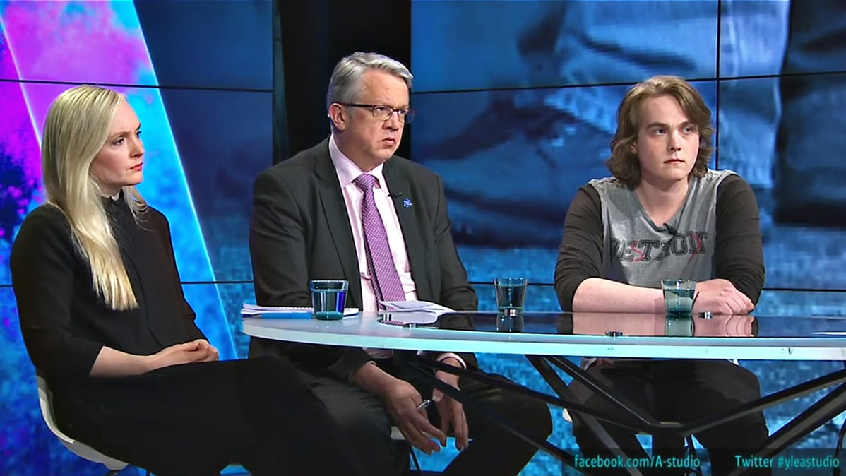 Maria Ohisalo, Juha Rehula, Aarni Reiman