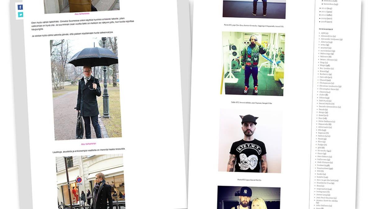 Miesten muotiblogit