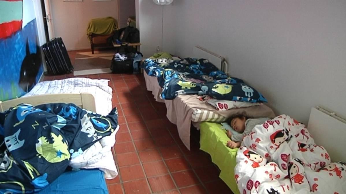 Turvapaikanhakijan majoittaminen korvaus
