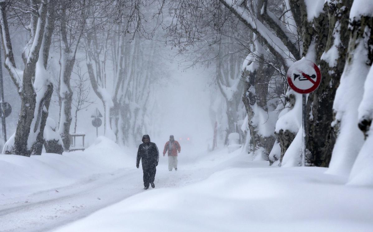 Istanbul lumisade.