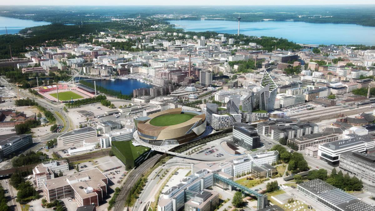 Tampereen keskusareena 2015