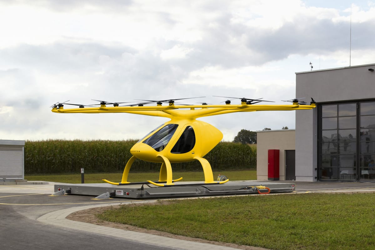 ADAC:n Volocopter  2019