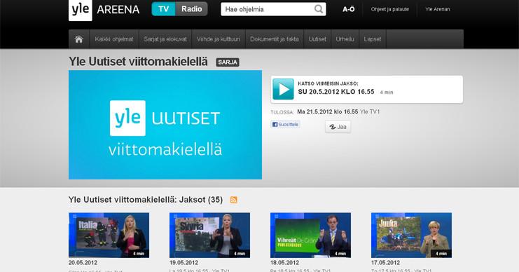 uudet tv ohjelmat Paimio