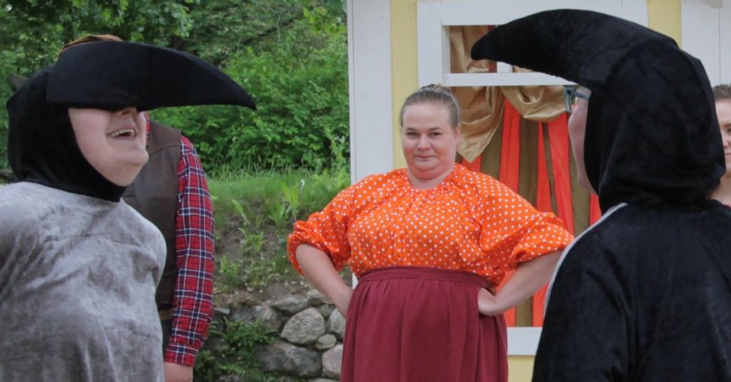 Uusi Iloinen Teatteri esiintyy Lappeenrannan