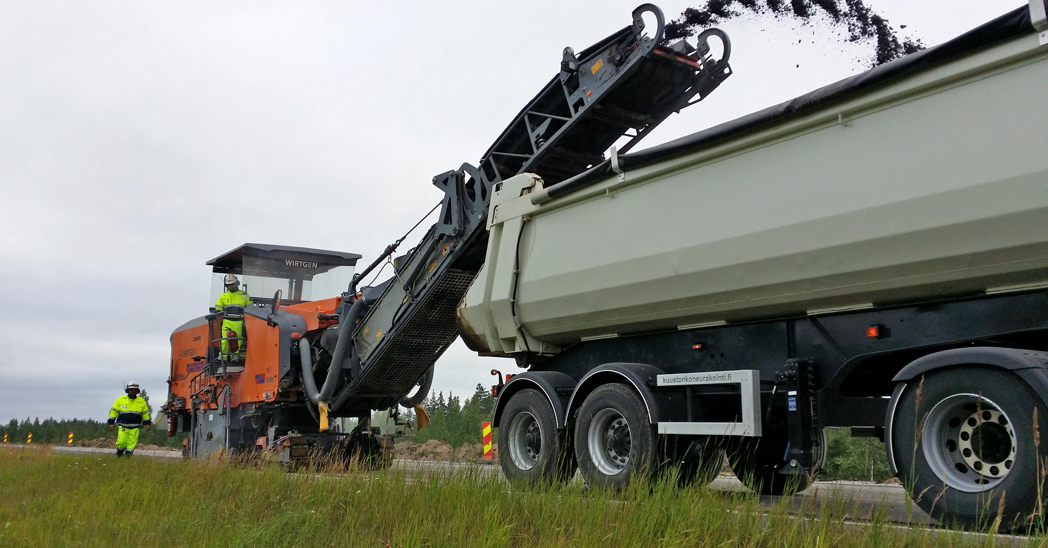 asfalttityöntekijä avoimet työpaikat Tornio