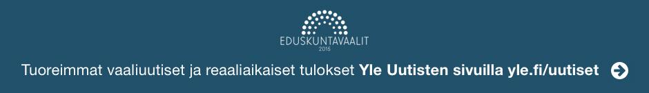 Tuoreimmat vaaliuutiset ja reaaliaikaiset tulokset Yle Uutisten sivuilla
