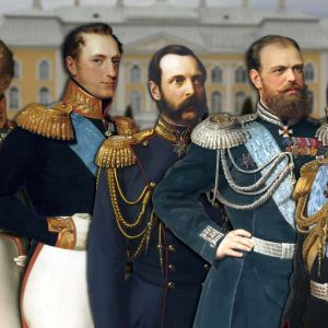 Viisi keisaria piirroskuvassa