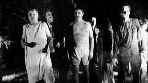 Kuva elokuvasta Elävien kuolleiden yö (Night of the Living Dead)