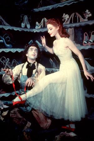 Punaiset kengät. Elokuva vuodelta 1948.