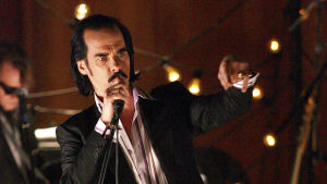 Nick Cave and The Bad Seeds konsertissa Lontoossa 2008