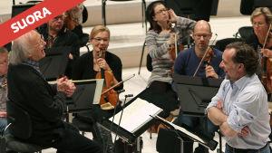 RSOn konsertin johtaa Heinz Holliger ja solistina laulaa Christian Gerhaher.