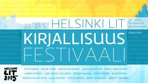 Helsinki Lit -kirjallisuusfestivaalin Ylen tunnuskuva