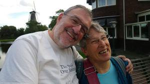Karen McLaughlin ja Mark Schubin