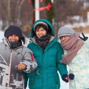 Talvi Suomessa.