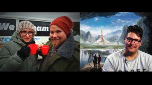 Stradan Marjut Tervola haastatteli Juho Leppästä ja Timo Vuorensolaa