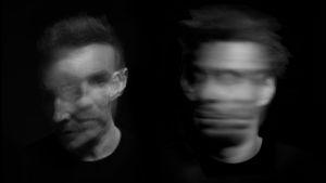 "Massive Attackin Robert ""3D"" Del Naja ja Grant ""Daddy G"" Marshall"