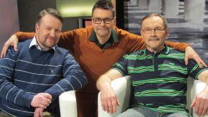 Vesa-Pekka Tauriainen, Kimmo Saares ja Pentti Löfgren