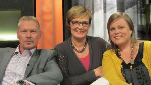 Markku Heikkilä, Hilla Blomberg, Minna Pitkäniemi