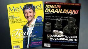 miesten ja naisten lehtiä