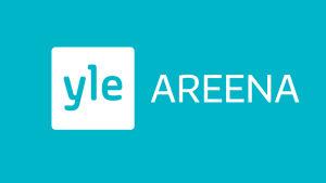 Sininen Yle Areena -logo lapset-sivulle Fyndiin