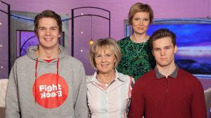 Perheen tuki on ollut aivovammasta kuntoutuvalle Pekka Hyysalolle korvaamaton asia. yle tv1