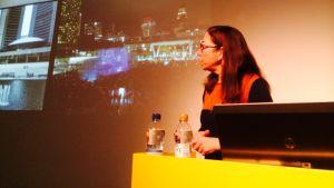 Arkkitehti Janna Levitt vieraili Suomessa