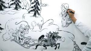 Bo Haglundin Kullervo animaatio.