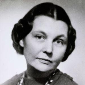 Kirsti Gallen-Kallela kuvattuna 1942