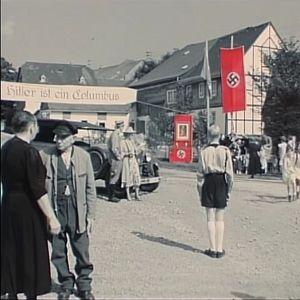 Kuva tv-sarjasta Kotiseutu (Heimat). Kuvakaappaus.