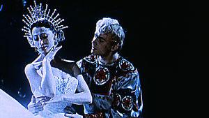 Kuva Bolshoi-baletin vanhasta tv-esiintymisestä