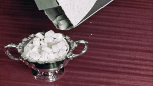 Kuva lyhytelokuvasta Kolme palaa sokeria.