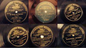 Gramophone-yhtiön levyetikettejä
