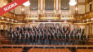 Wienin filharmonikot esiintyväy Musiikkitalossa 13.6.2015.