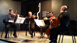 Danel-kvartetti Kuhmossa 2015.