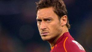 AS Roman hyökkääjä Francesco Totti