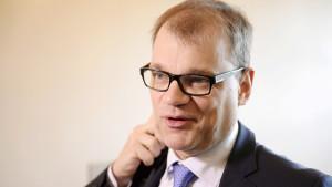 Centerns ordförande Juha Sipilä.