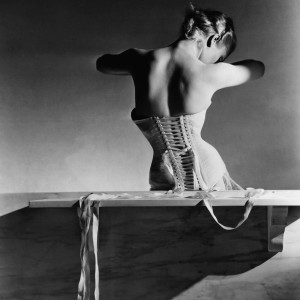 "The image shows ""The Mainbocher Corset"" by Horst P. Horst, VOGUE Archive Collection, www.lumas.com. LUMAS VOGUE Collection presents Masterpieces of Fashion Photography. Iconic fashion photographers of the 20th century from the archives of American VOGUE."