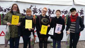 Den feministiska kulturtidskriften Astra valdes till årets kvalitetstidskrift.