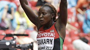 Joyce Zakary misstänkts för dopning.