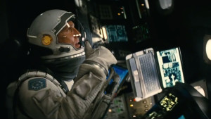 Matthew Mcconaughey i filmen Interstellar.
