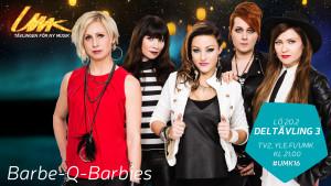 Barbe-Q-Barbies i UMK.