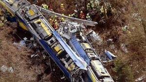 Tågolycka i Tyskland