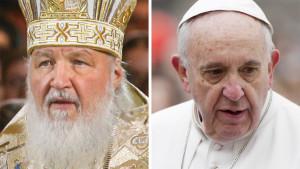 Påven och patriarken.
