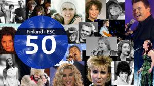 19 svenskspråkiga artister har representerat Finland i Eurovisionen
