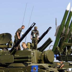 Ruska Buk-missiler.