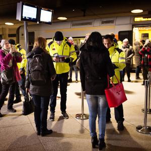 ID-kontroll vid Kastrups flygplats