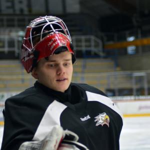 Timo Niemi, målvakt i Vasa Sport.