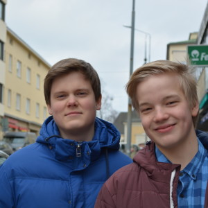 William Kumpu och Daniel Asplund