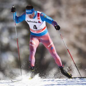 Sergei Ustiugov spurtade bäst i Falun.