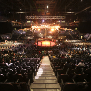 Arkivbild från ett UFC-evenemang i Macao.